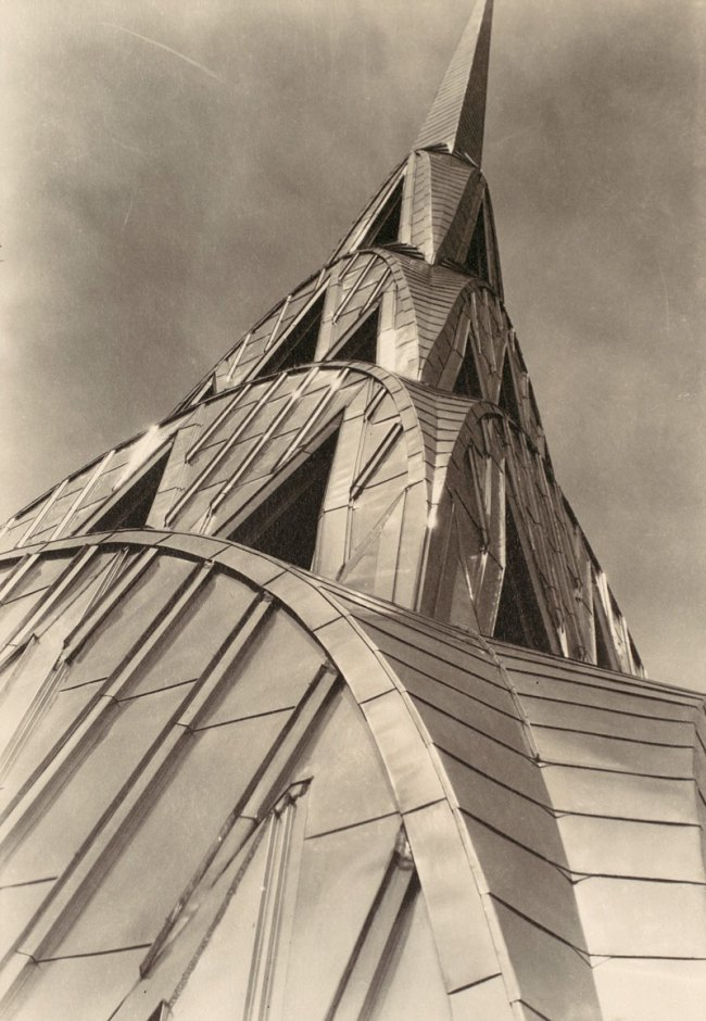 Margaret Bourke-White. 'Chrysler Building, New York' c. 1930-31