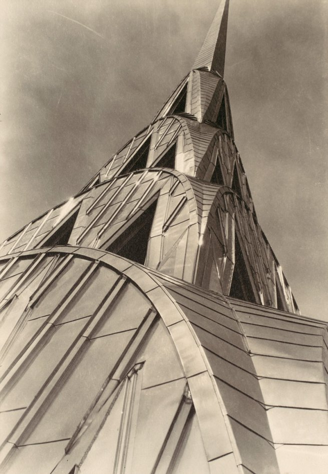 Margaret Bourke-White. 'Chrysler Building, New York' c. 1930-31