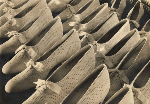 Margaret Bourke-White, Delman Shoes, 1933.