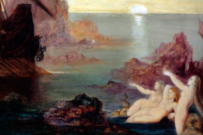 Gustave Moreau. 'The Sirens' 1885 (detail)