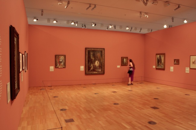 'Gustave Moreau and the Eternal Feminine' at the National Gallery of Victoria installation photograph