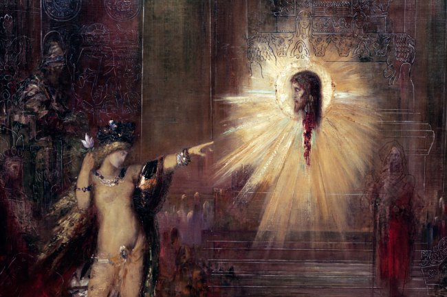 Gustave Moreau. 'The Apparition' 1875 (detail)