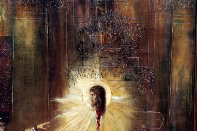 Gustave Moreau. 'The apparition' 1874-76 (detail)