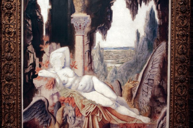 Gustave Moreau. 'Fairy with Griffons' 1875 (detail)