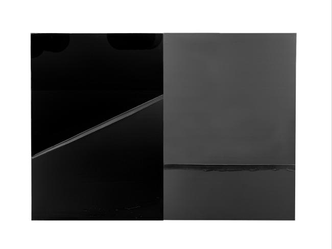 Pierre Soulages. 'Peinture 222 x 314 cm, 24 février 2008'