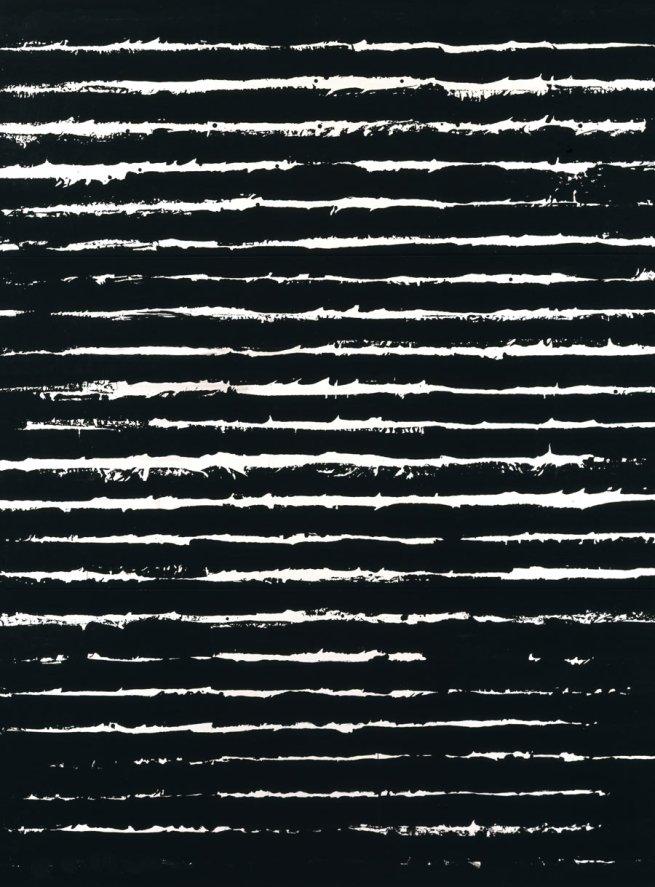 Pierre Soulages. 'Peinture; 243 x 181 cm; 26 juin 1999'