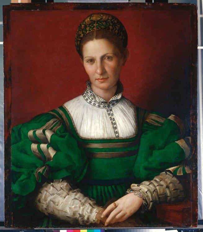 Bronzino. 'Portrait of a Women (Matteo Sofferoni's Daughter?)' c. 1530-32