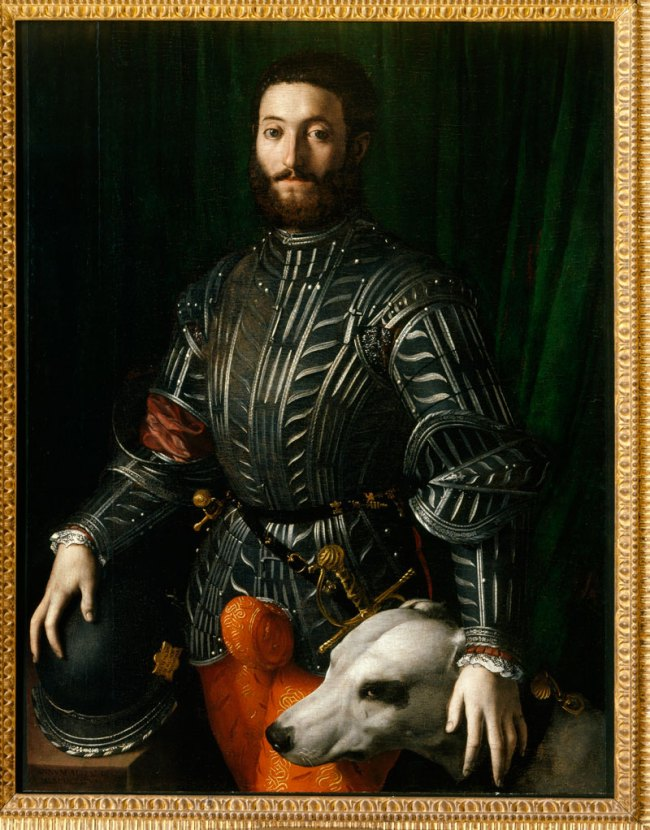 Bronzino. 'Portrait of Guidubaldo II della Rovere' 1531-1532