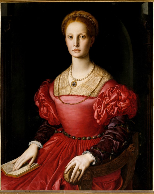 Bronzino. 'Portrait of Lucrezia Panciatichi' 1540