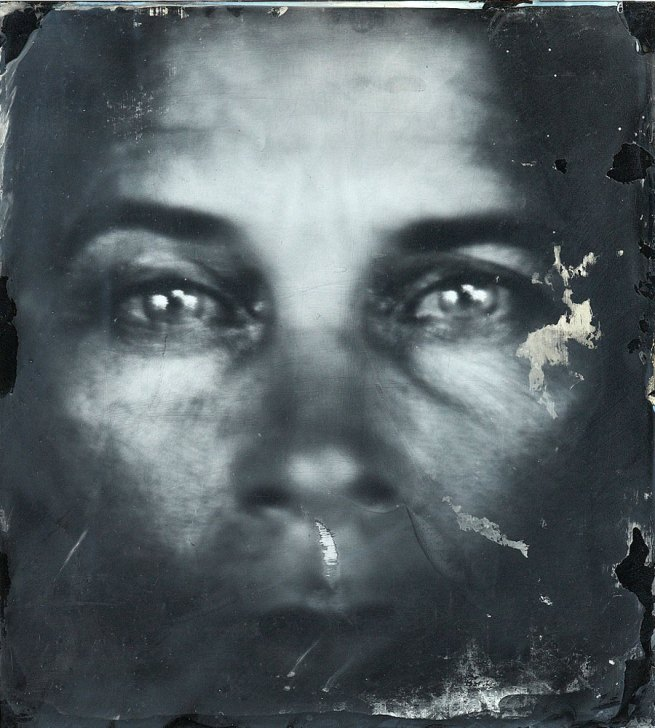 Sally Mann. 'Untitled (Self Portraits)' 2006-7 (detail)
