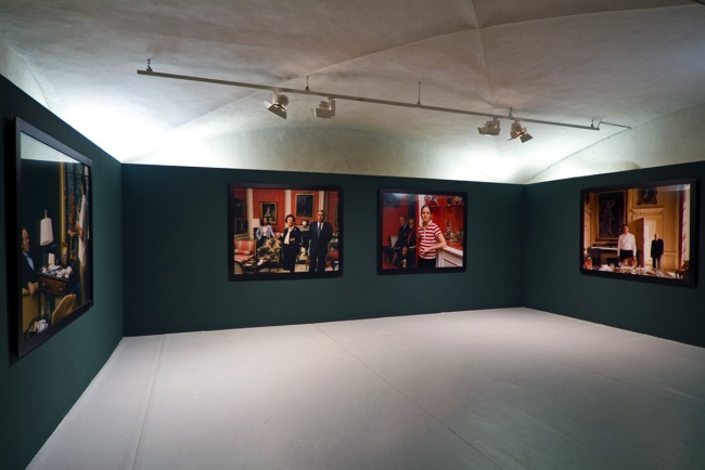Tina Barney installation view