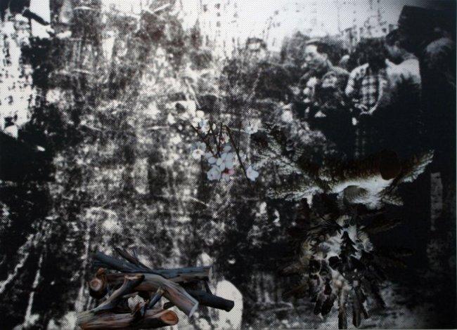 John Young. 'Flower Market (Nanjing 1936) #1' 2010