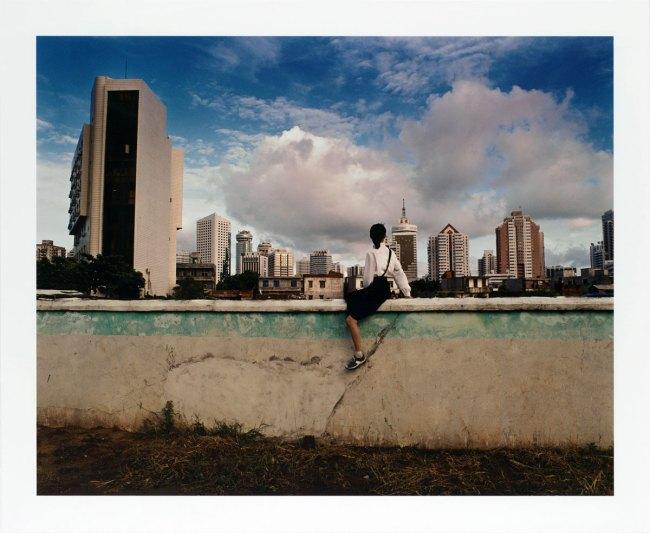 Weng Fen (Chinese, born 1961) 'Bird's Eye View: Haikou V' 2002
