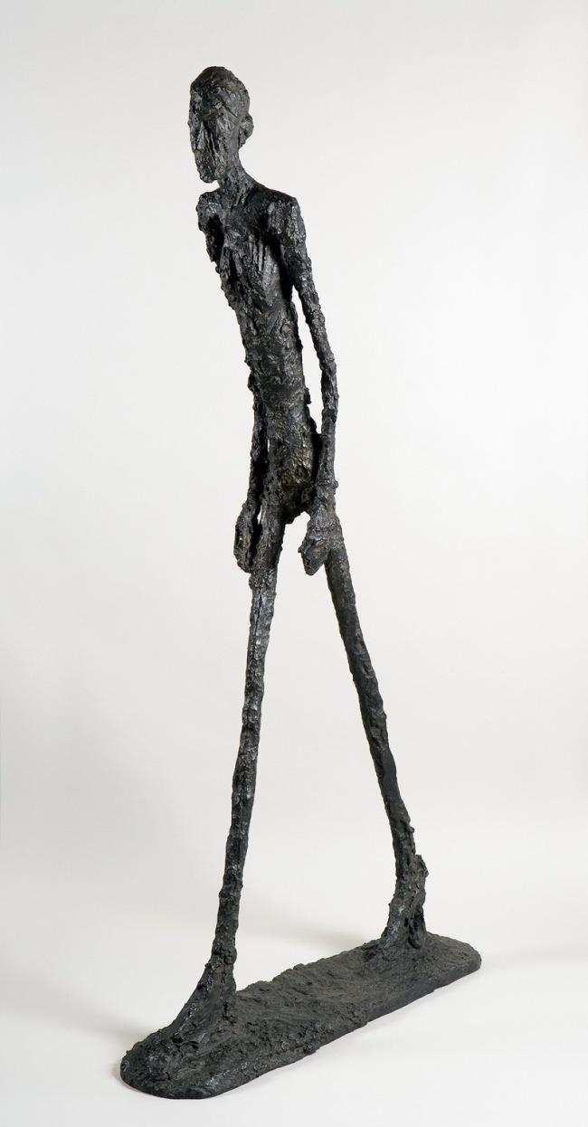 Alberto Giacometti. 'Walking Man I' 1960
