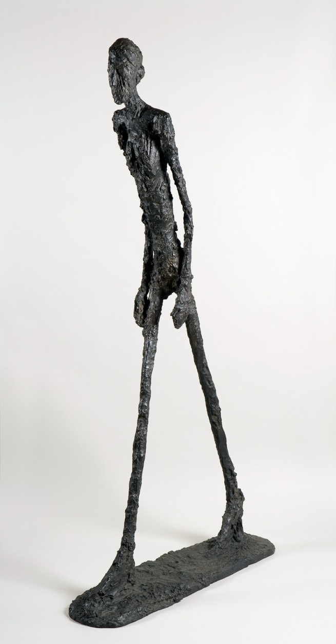 Alberto Giacometti. 'Walking Man I' 1960