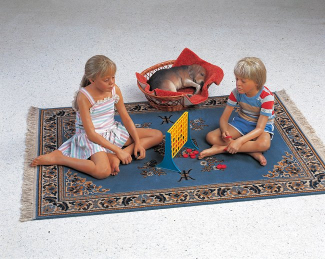 Duane Hanson. 'Children Playing Game' 1979