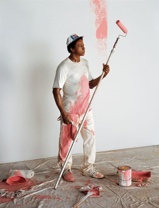 Duane Hanson. 'Housepainter I' 1984/1988