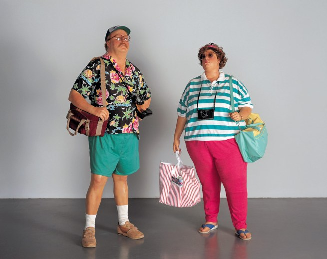 Duane Hanson. 'Tourists II' 1988