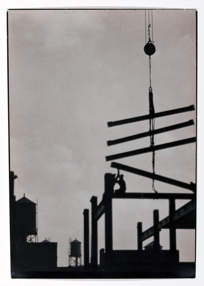 Emil Otto Hoppé. 'Steel construction, Philadelphia' 1926