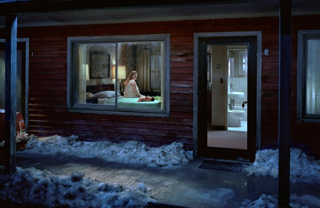 Gregory Crewdson. 'Untitled (Birth)' from the series 'Beneath the Roses' 2007