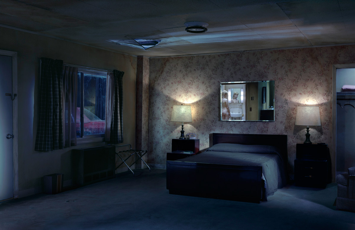 Gregory crewdson untitled forest clearing art blart for Classic house 2006