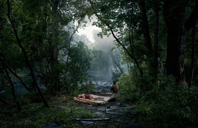 Gregory Crewdson. 'Untitled (Forest Clearing)' from the series 'Beneath the Roses' 2006