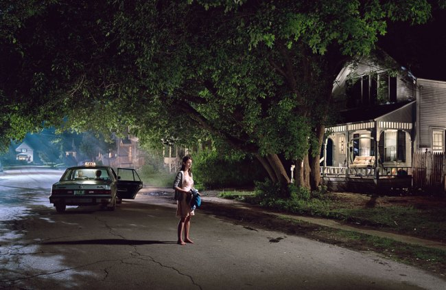 Gregory Crewdson. 'Untitled (Maple Street)' from the series 'Beneath the Roses' 2004