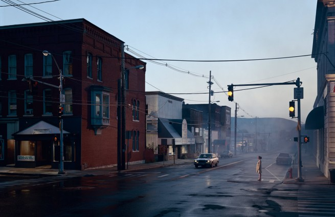 Gregory Crewdson. 'Untitled (Merchants Row)' from the series 'Beneath the Roses' 2003