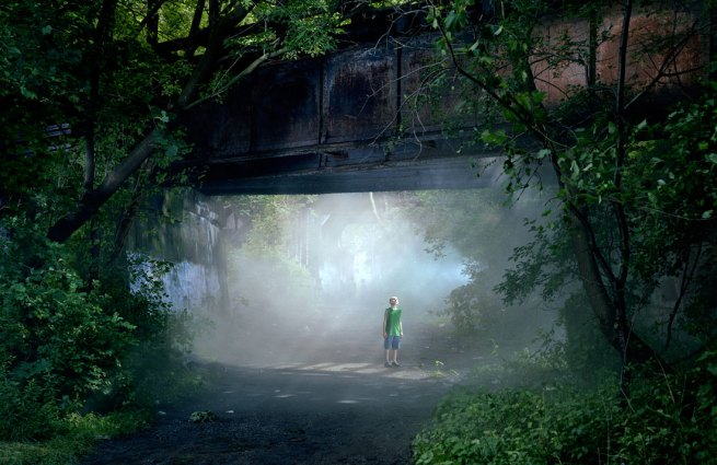 Gregory Crewdson. 'Untitled (Shane)' from the series 'Beneath the Roses' 2006