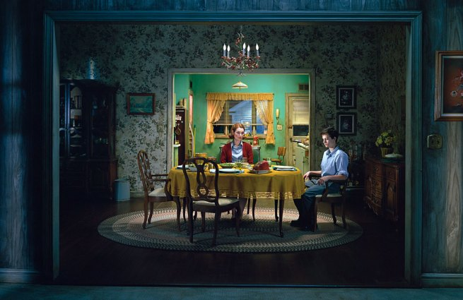 Gregory Crewdson. 'Untitled (Sunday Roast)' from the series 'Beneath the Roses' 2005