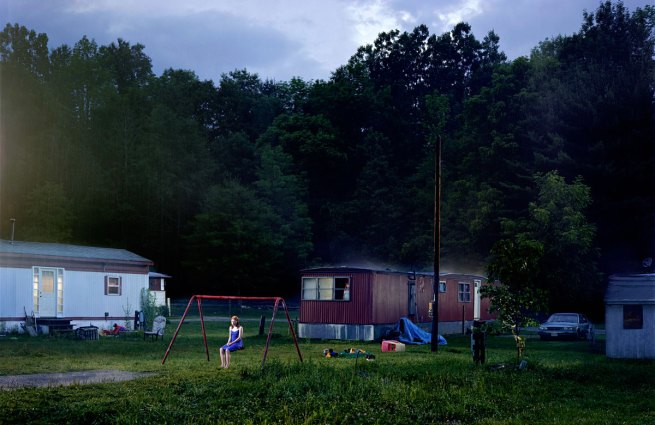 Gregory Crewdson. 'Untitled (Trailer Park)' from the series 'Beneath the Roses' 200