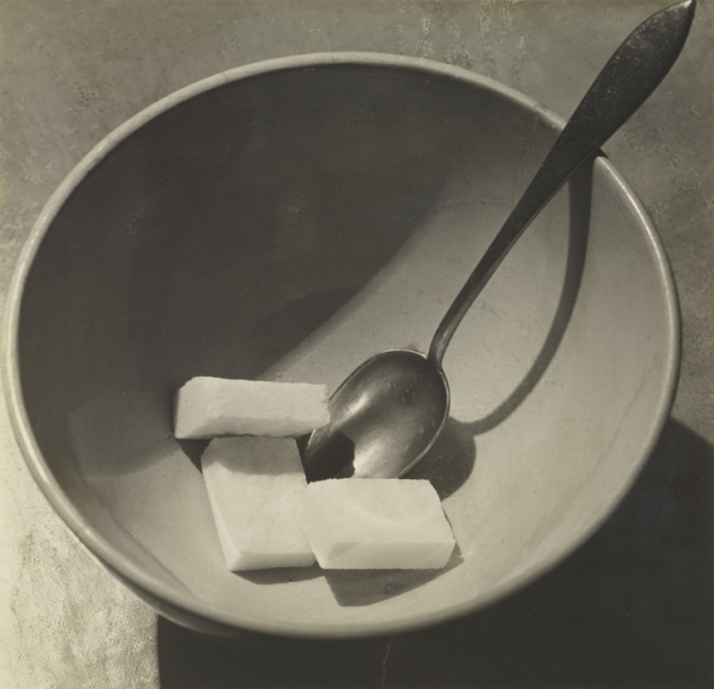 André Kertész (American, born Hungary, 1894-1985) '[Bowl with Sugar Cubes]' 1928