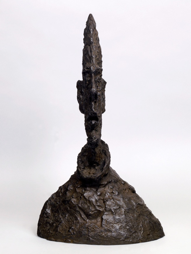 Alberto Giacometti. 'Large Narrow Head' 1954