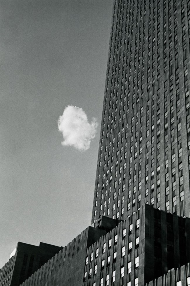 André Kertész. 'Lost Cloud' New York, 1937