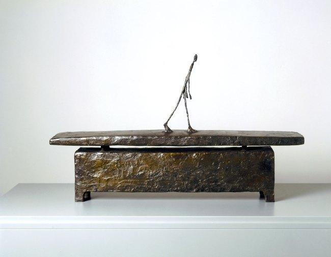 Alberto Giacometti. 'Man walking in the Rain' 1948