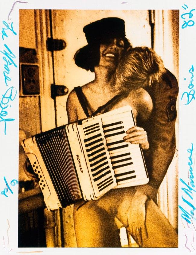 Mark Morrisroe. 'La Môme Piaf [Pat and Thierry]' 1982