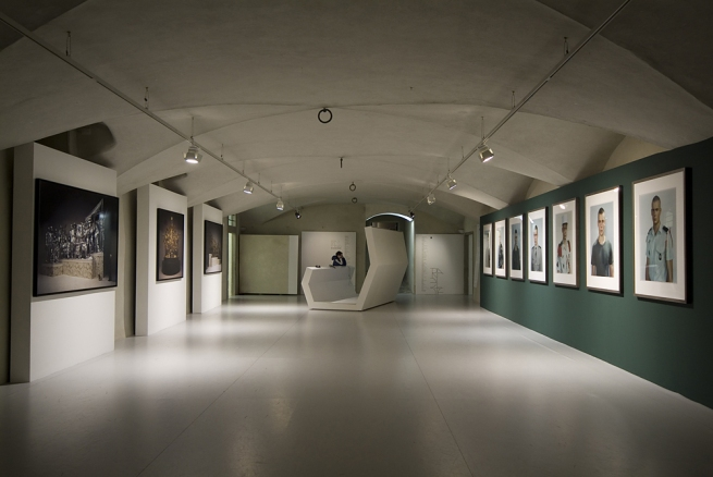 Installation view of the exhibition 'Portraits and Power: People, Politics and Structures' at Centro di Cultura Contemporanea Strozzina - Fondazione Palazzo Strozzi, Florence