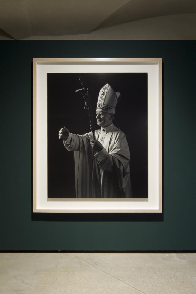 Hiroshi Sugimoto (Japan, b. 1948) Pope John Paul II 1999 (installation view)