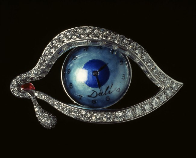 Salvador Dalí, 'Time's Eye' Nd