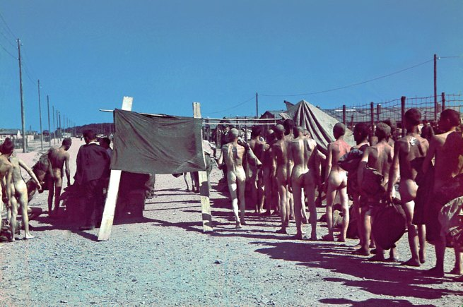 Unknown. 'Selection in a Prisoner of War Camp: Recruitment for Mining' 1942