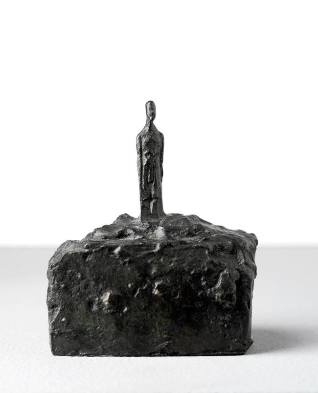 Alberto Giacometti. 'Small Man on a Base' 1940-41