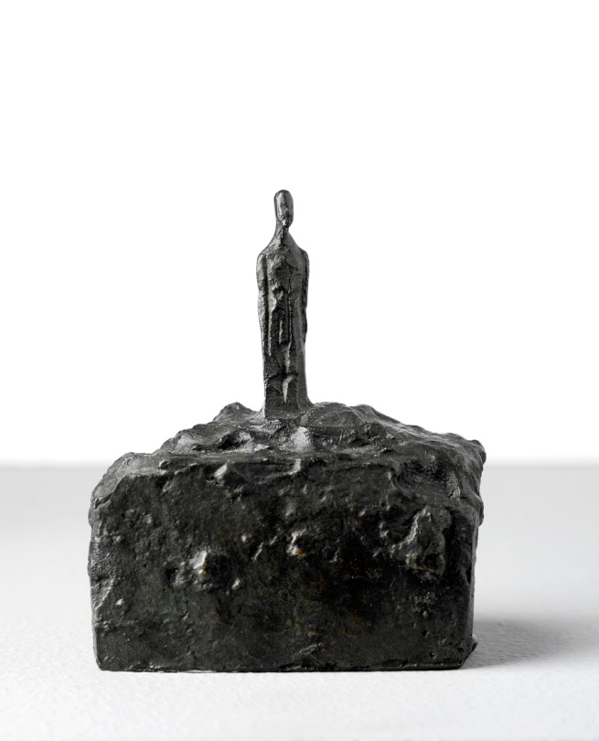 Alberto Giacometti. 'Small Man on a Base' 1940-41