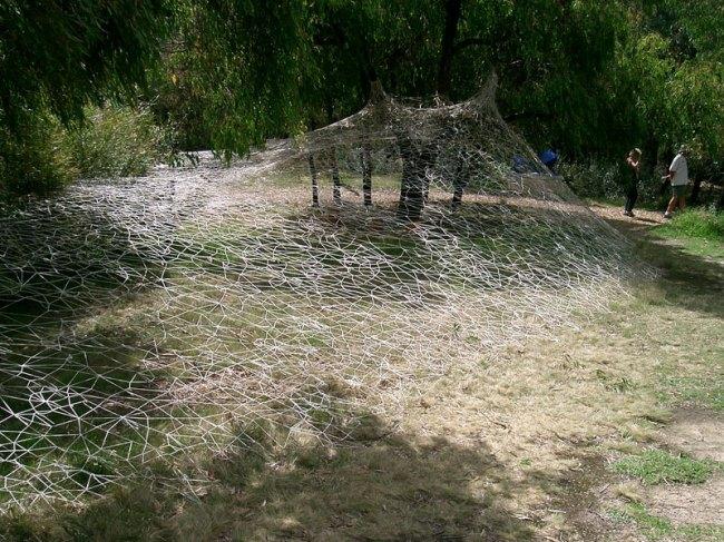 Chaco Kato. 'A white nest: 2010' 2010