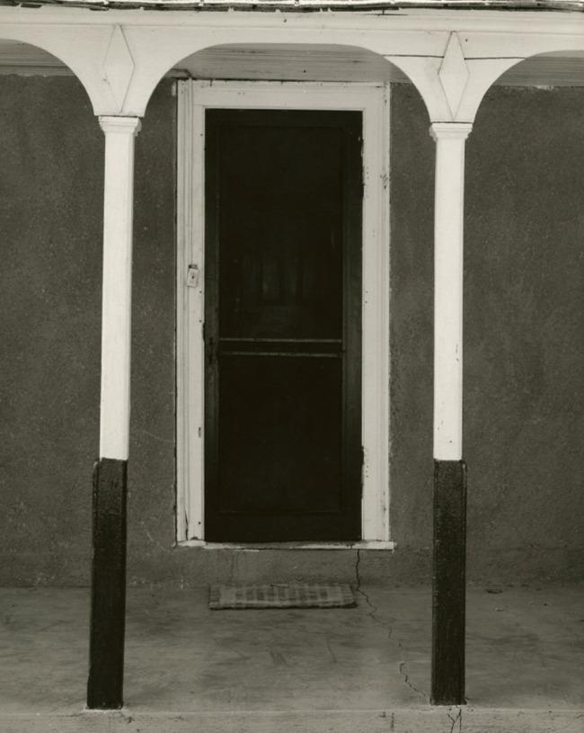 Dorothea Lange. 'Doorway, Toquerville, Utah' 1953
