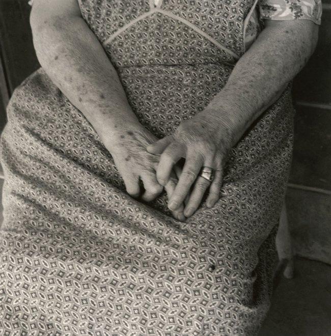 Dorothea Lange. 'Hands, Toquerville, Utah' 1953