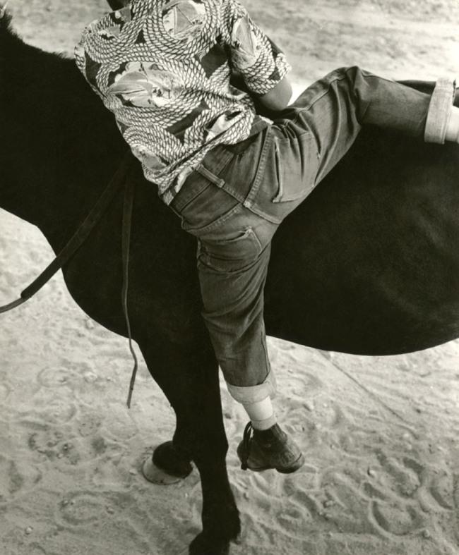 Dorothea Lange. 'Horseplay, Gunlock, Utah' 1953
