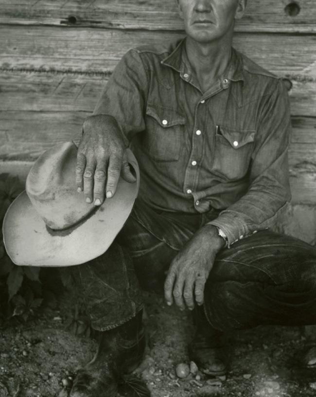 Dorothea Lange. 'Jake Jones' Hands, Gunlock, Utah' 1953