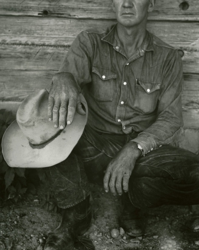 Dorothea Lange. 'Jake Jones' Hands, Gunlock, Utah' 1953