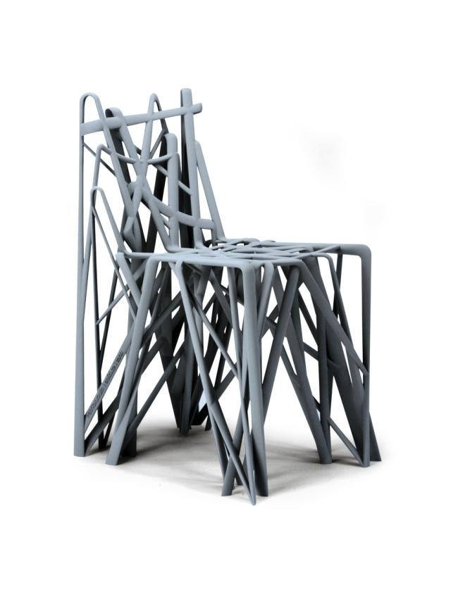 Patrick Jouin. 'C2 Solid Chair' Paris, 2008