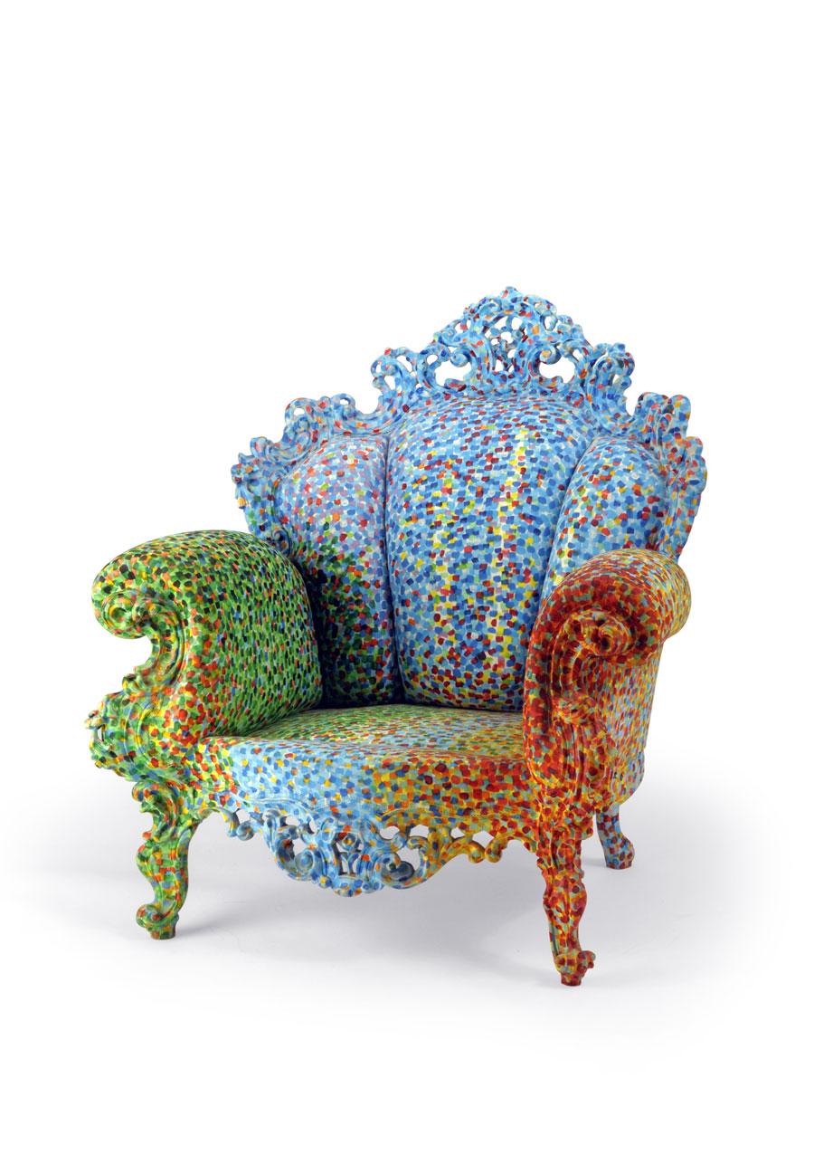Alessandro Mendini Proust Armchair Art Blart